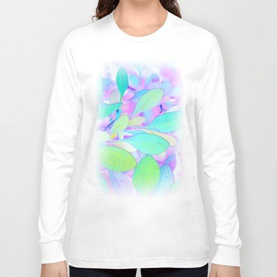 Flower   Flowers   Leaves   Faerie Spring Long Sleeve T-shirt