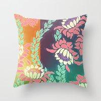sunrise Throw Pillows featuring Sunrise by Vikki Salmela