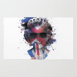 Queen Listen Music Rug