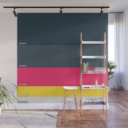 Palette Color hex Wall Mural