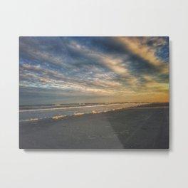 Brigantine Beach Sunset Metal Print