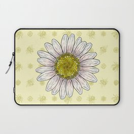 Daisy and Bees Laptop Sleeve