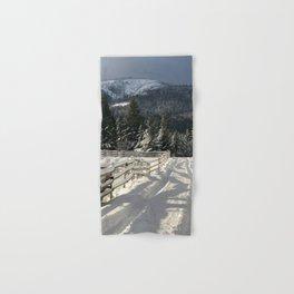 Winter scene in British Columbia, Canada Hand & Bath Towel