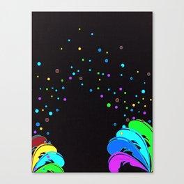 La Vida Es Un Carnaval Canvas Print