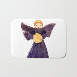 Christmas angel Bath Mat
