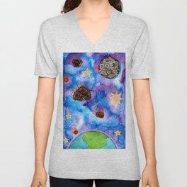 Asteroid Day Unisex V-Neck