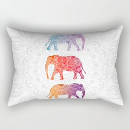 Elephantz Rectangular Pillow