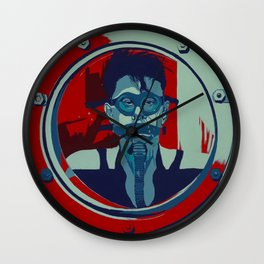 Love In A Hole Wall Clock