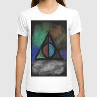 deathly hallows T-shirts featuring Deathly Hallows - Dark! by Ria-Ra