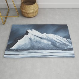 Mount Rundle Rug