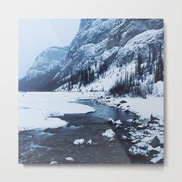 The Icefields Parkway, Alberta Metal Print