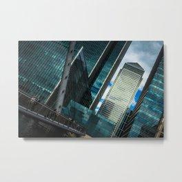 London Downtown Metal Print
