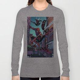 Spider-men Long Sleeve T-shirt