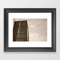 Climbing For The Moon Framed Art Print