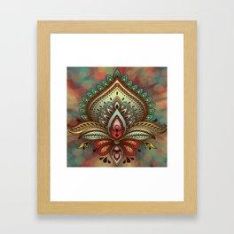 Beautiful Symbolic Design Framed Art Print
