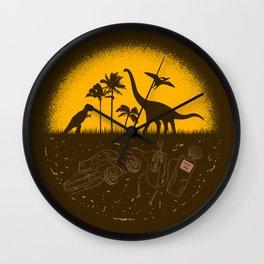 Fossil Fuel Wall Clock