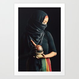 The Mother Land Art Print