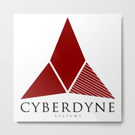 Cyberdyne Systems (Retro Logo) Metal Print