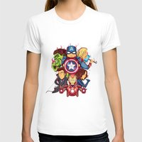 avenger T-shirts featuring The Avenger by rendhy wahyu