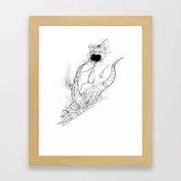 Puke Slaughter Framed Art Print