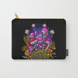 Ocean Mushrooms Carry-All Pouch