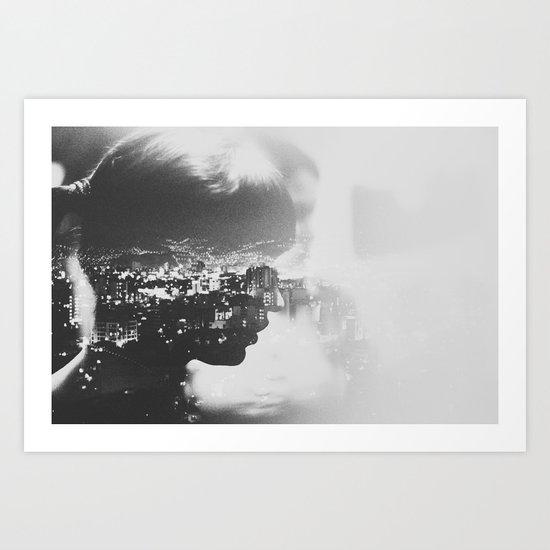 Daniella, 2012  Art Print