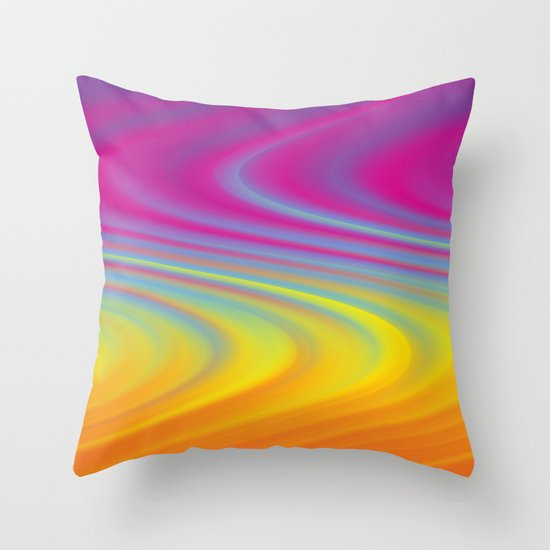 CURVY! Throw Pillow