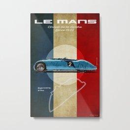 Le Mans Vintage B 57G Tank Metal Print