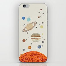 The Solar System - Planets, Moons, and Dwarf Planets iPhone & iPod Skin