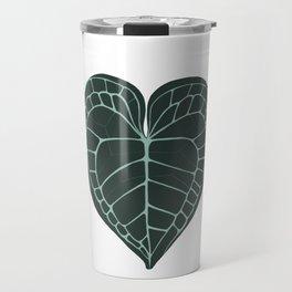 Anthurium Clarinervium w Travel Mug