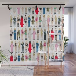 Outfits of Madge Fashion Wall Mural