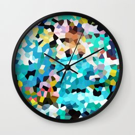 Colorful Moments Wall Clock