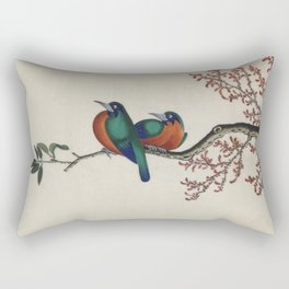 Chinese birds design Rectangular Pillow