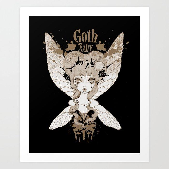 Goth fairy prints