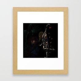 Sea My Heart Framed Art Print