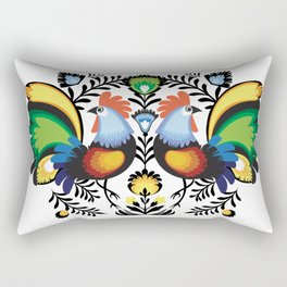 Rooster Rectangular Pillow
