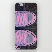 converse iPhone & iPod Skins featuring Converse by KING CHRISTOPHER