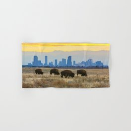 City Buffalo Hand & Bath Towel