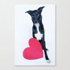 Little Valentine Canvas Print