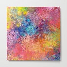 Galaxy Rainbow Metal Print
