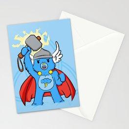 Thor, bear of thunder Stationery Cards