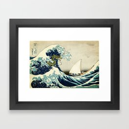 To where the wild things are Framed Art Print