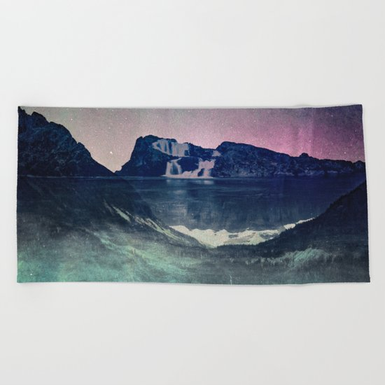 Mountain Lake Retreat II Beach Towel