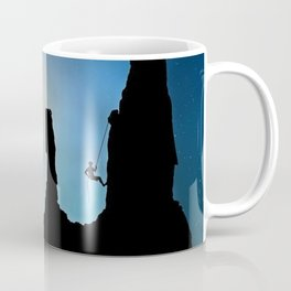 Rock Climbing Mountaineer Coffee Mug