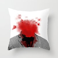 danny ivan Throw Pillows featuring Danny by NicholasB