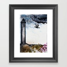 The Tower Framed Art Print