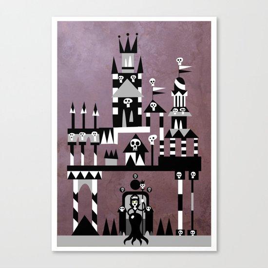 The Black Queen Canvas Print