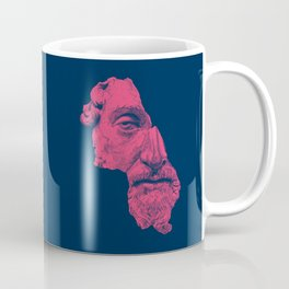 MARCUS AURELIUS ANTONINUS AUGUSTUS / prussian blue / vivid red Coffee Mug