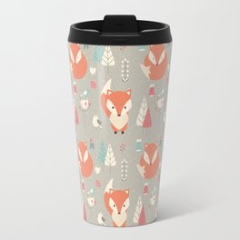 Baby fox pattern 01 Travel Mug