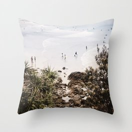The Pass, Byron Bay Throw Pillow